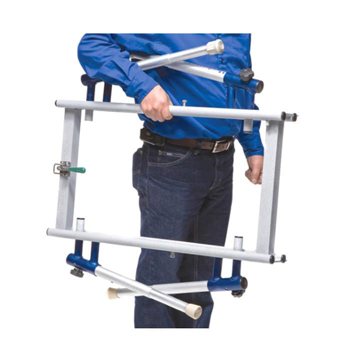 Ultima bath transfer chair, foldable transfer base