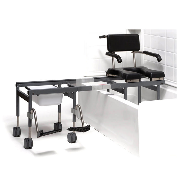 Versa transfer system with footrest