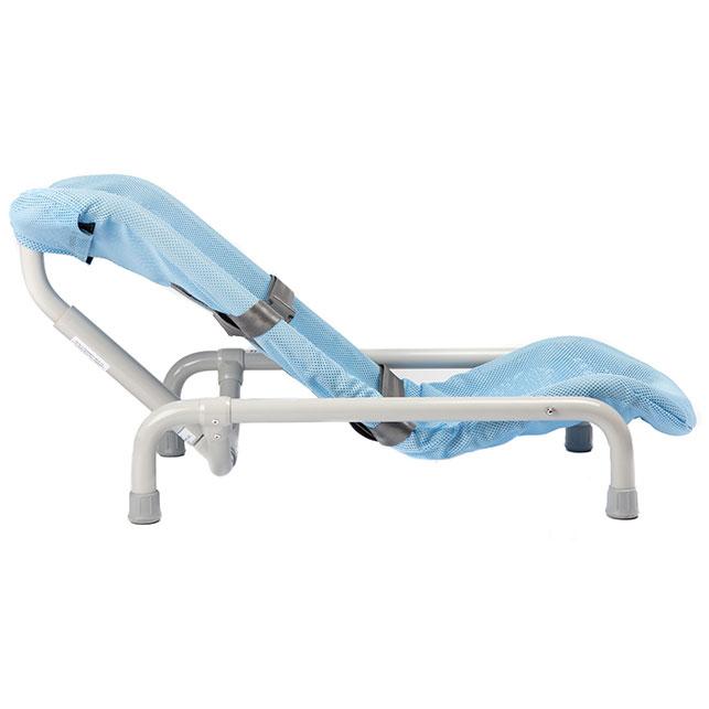 Contour deluxe tilt PVC bath chair