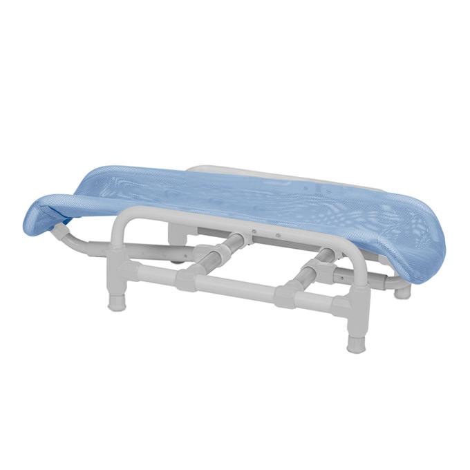 Supreme reclining PVC bath chair