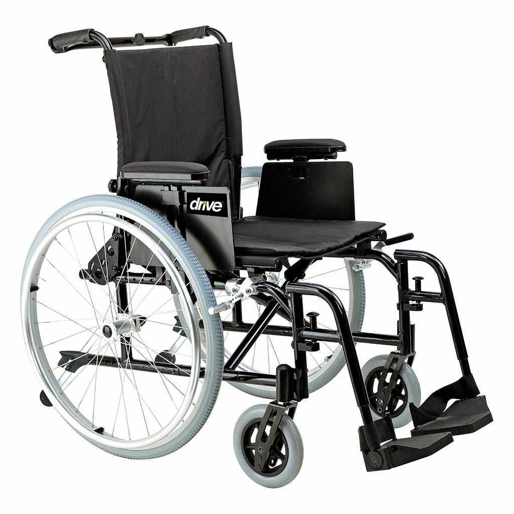 Drive Medical Cougar ultralight aluminum wheelchair
