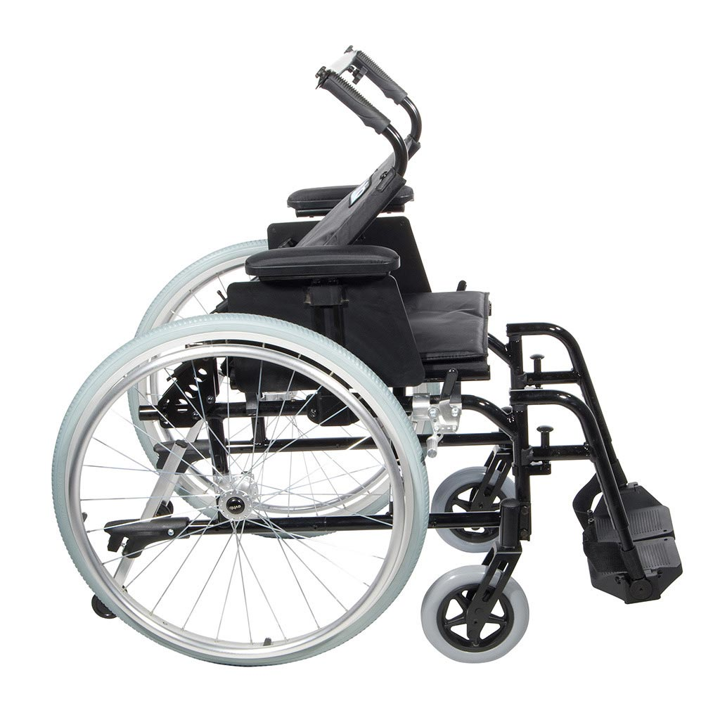 Cougar ultralight aluminum wheelchair side view