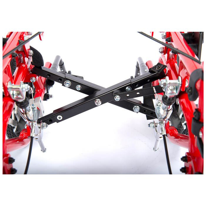 Kanga 2G wheelchair folding feature