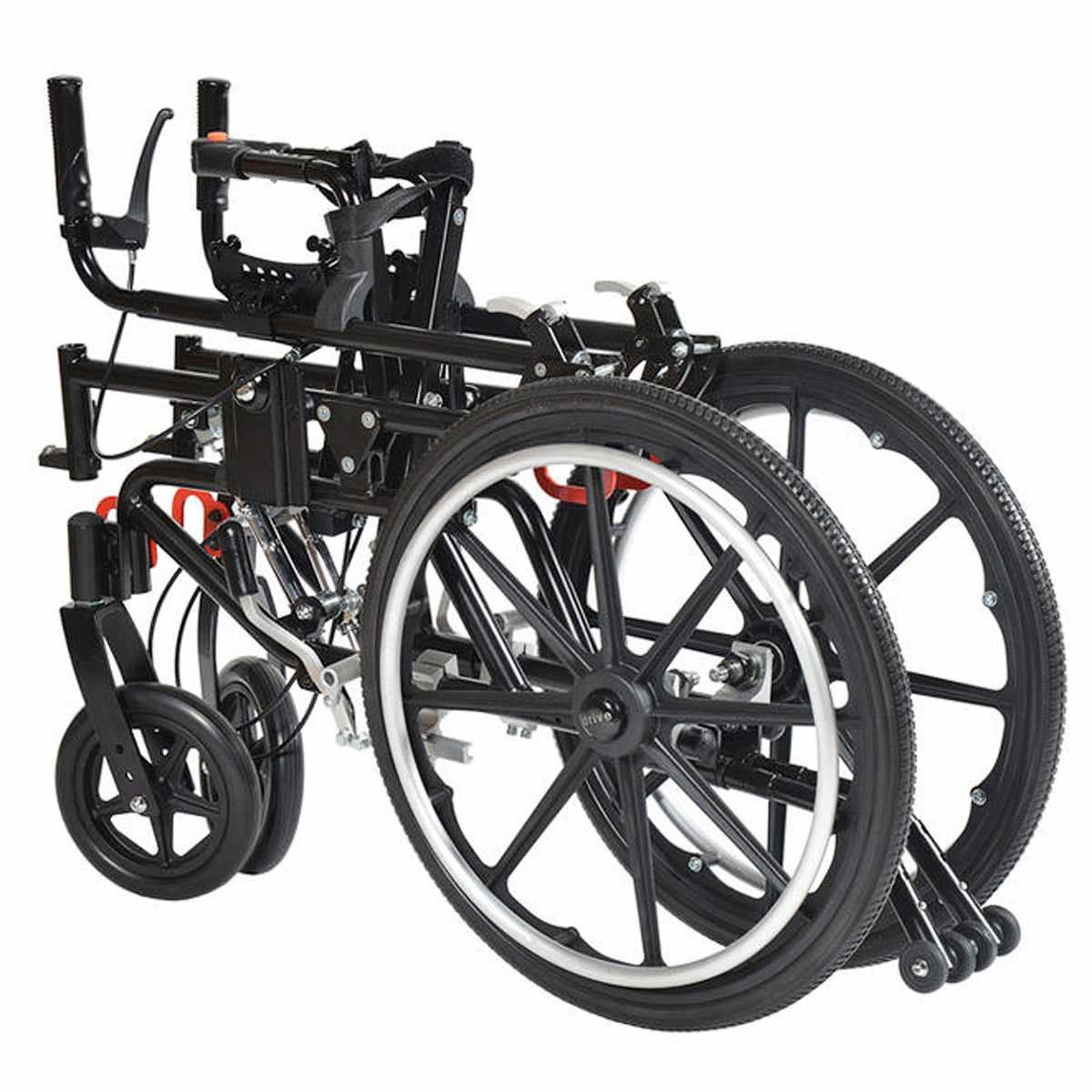 Kanga adult tilt wheelchair folded