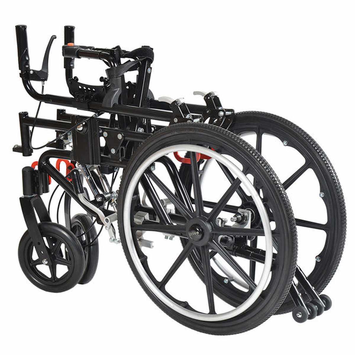 Kanga adult tilt wheelchair folded