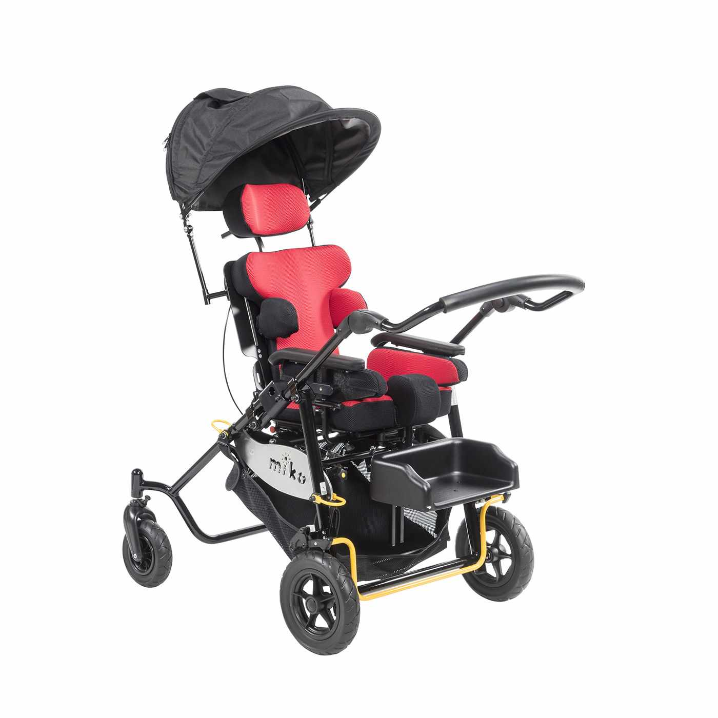 Miko stroller with tray