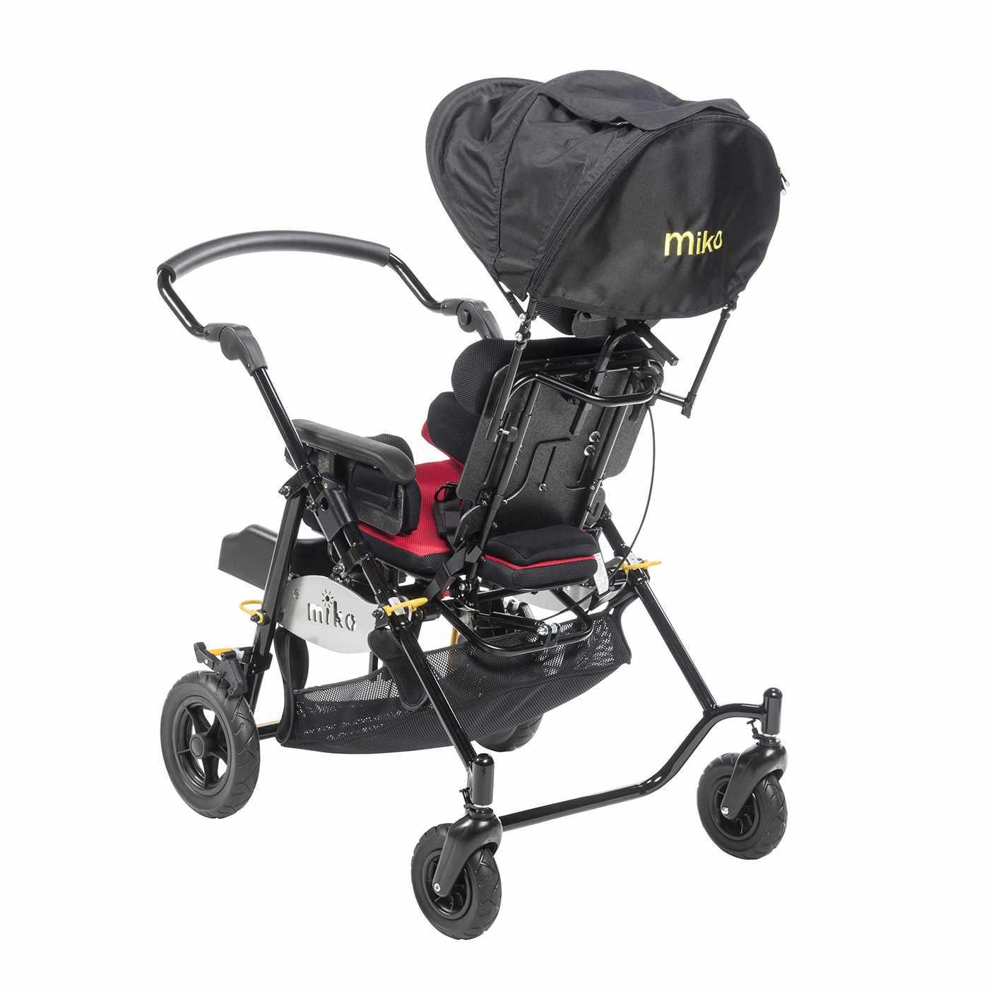 Miko tilt mobility stroller folded