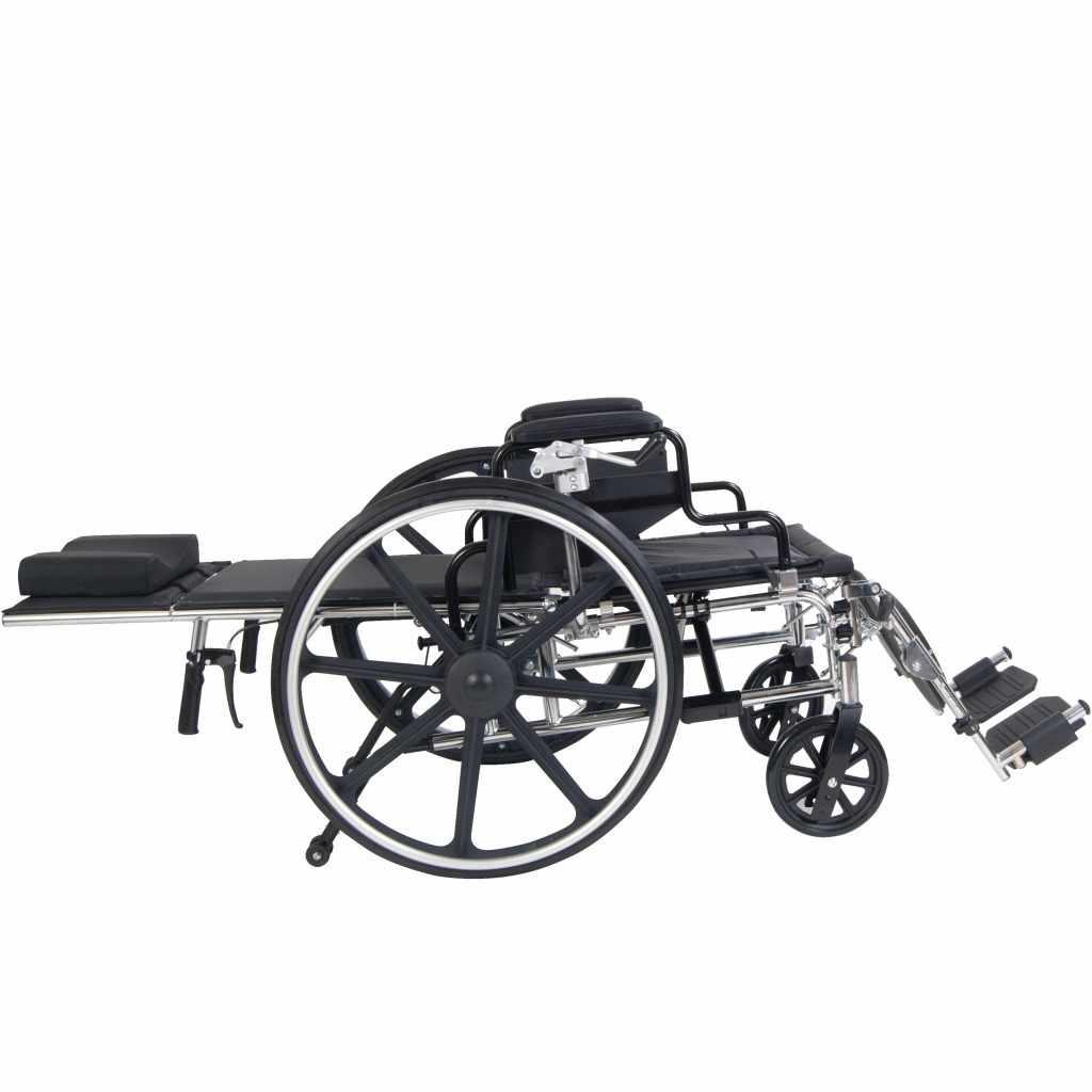 Viper plus reclining wheelchair full recline
