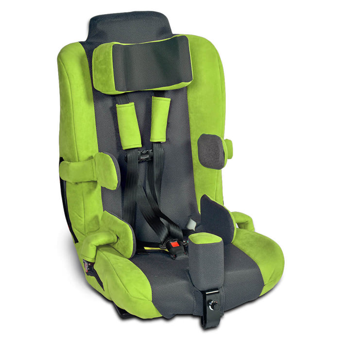 Spirit APS car seat Plus, Go kart green