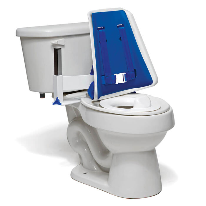 Contour toileting support