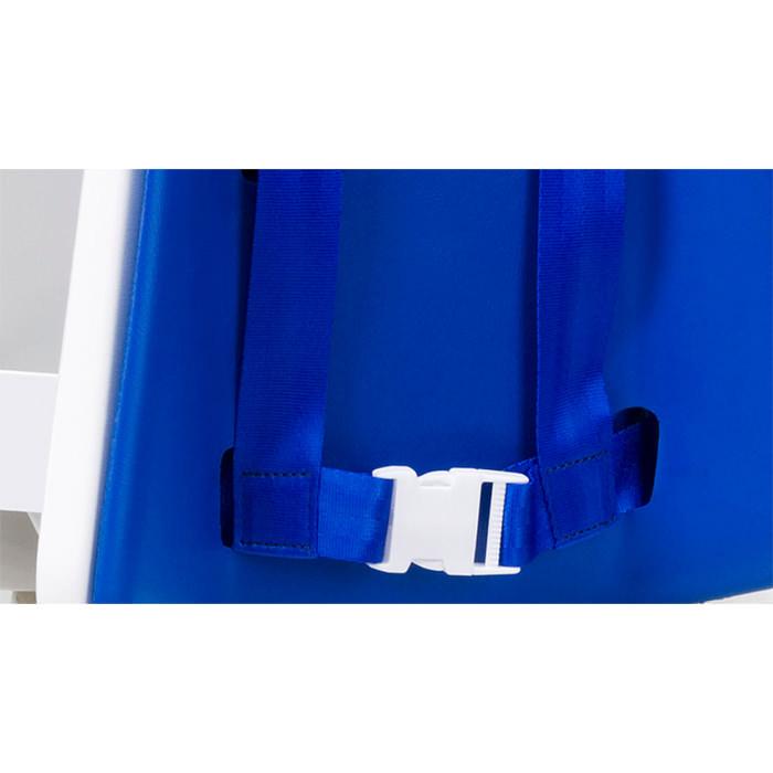 Contour toilet support belt