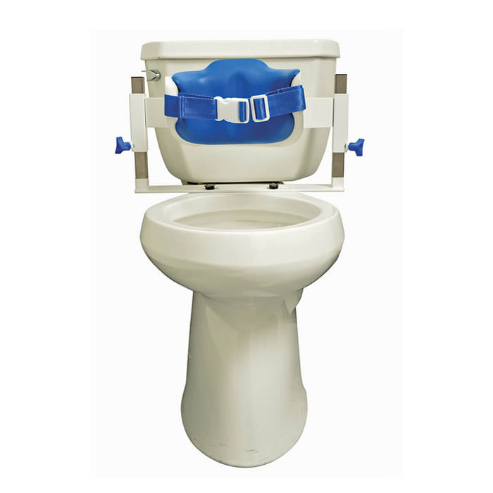 Contour commode lo-back support
