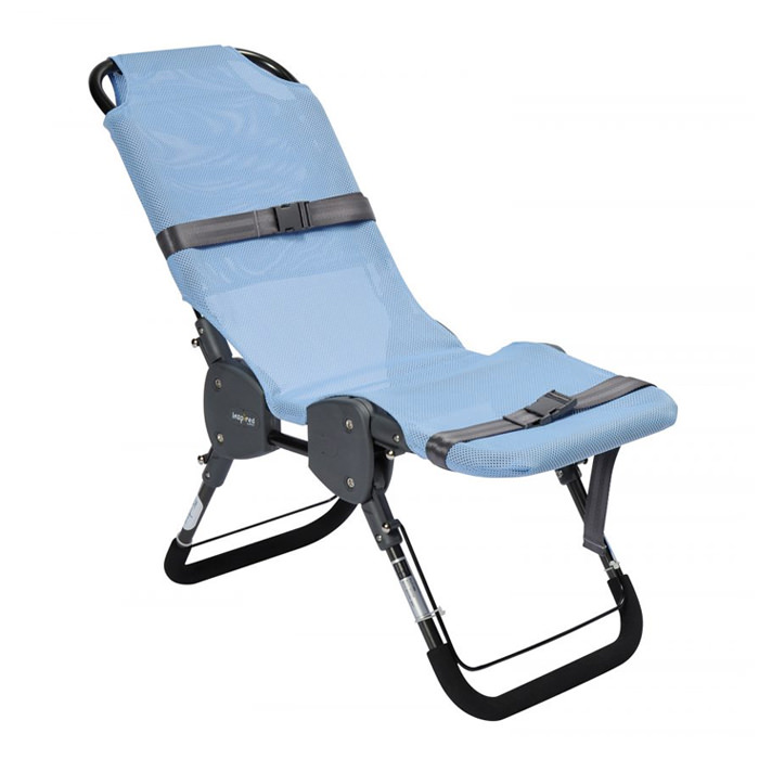 Columbia Ultima stainless steel bath chair