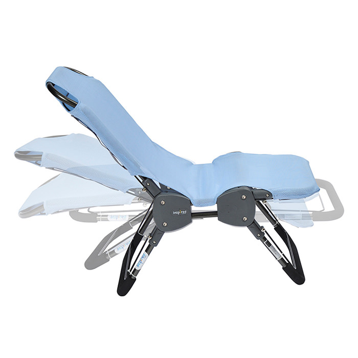 Ultima stainless steel bath chair
