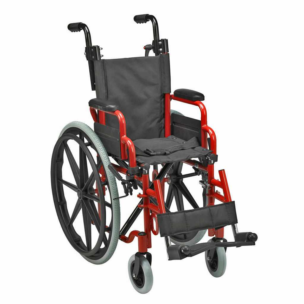 Drive Medical Wallaby Pediatric Wheelchair | Inspired By Drive (Wallabyfpw)