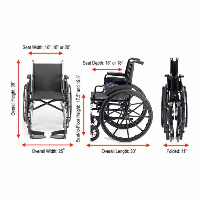 Invacare Ivc 9000 Sl Wheelchair | Invacare 9000 SL