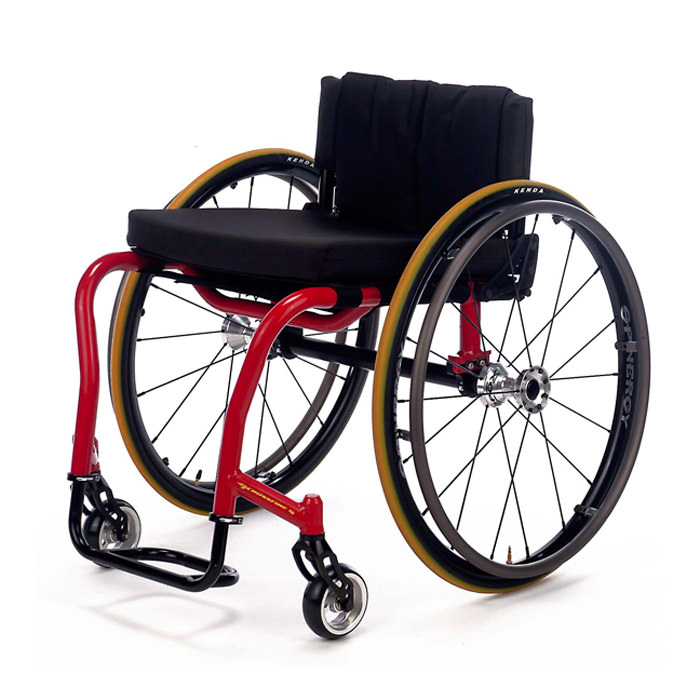 Top End Crossfire T6 rigid manual wheelchair
