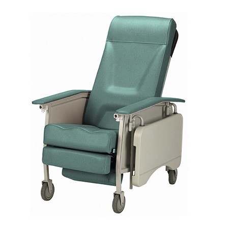 Invacare Deluxe Three Position Recliner Geri Chair | 3-Position Geri Chair