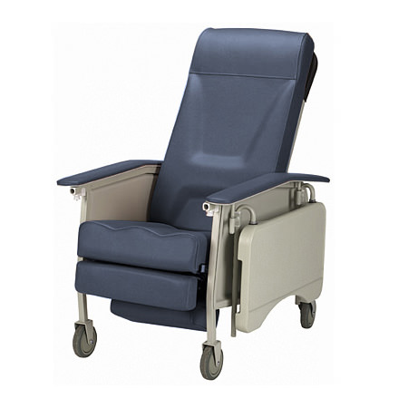 Invacare Deluxe Three Position Recliner Geri Chair | 3-Position Recliner