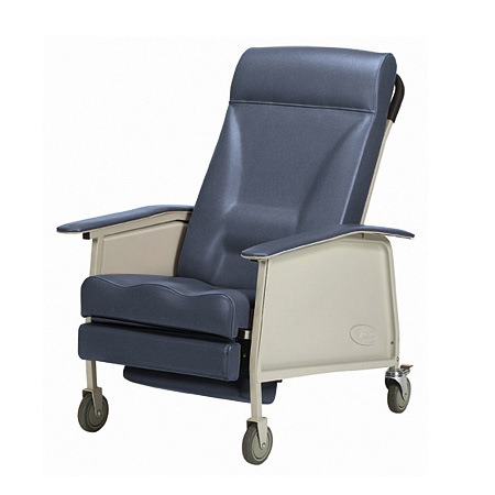 Invacare Deluxe Wide Three Position Recliner Geri Chair | Medicaleshop