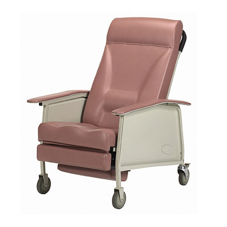 Invacare Deluxe Wide Three Position Recliner Geri Chair   3-Position Geri Chair