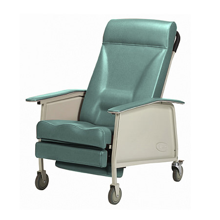 Invacare Deluxe Wide Three Position Recliner Geri Chair   3-Position Recliner