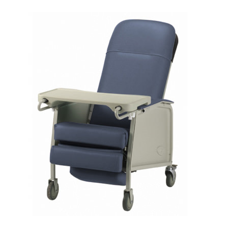 Invacare Traditional Three Position Recliner Geri Chair   3-Position Geri Chair