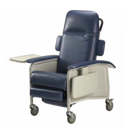 Invacare Clinical Three Position Recliner Geri Chair | 3-Position Geri Chair