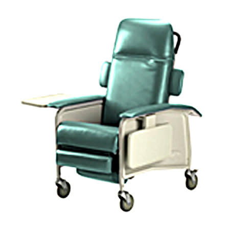 Invacare Clinical Three Position Recliner Geri Chair | 3-Position Recliner