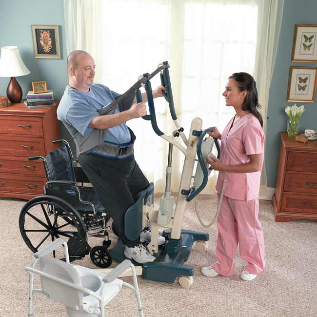 Invacare Roze Stand-Up Patient Lift   Stand Assist Aid