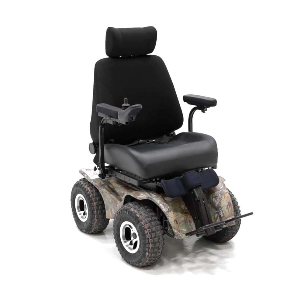 Magic Mobility Extreme X8 Four Wheel Drive All Terrain Wheelchair