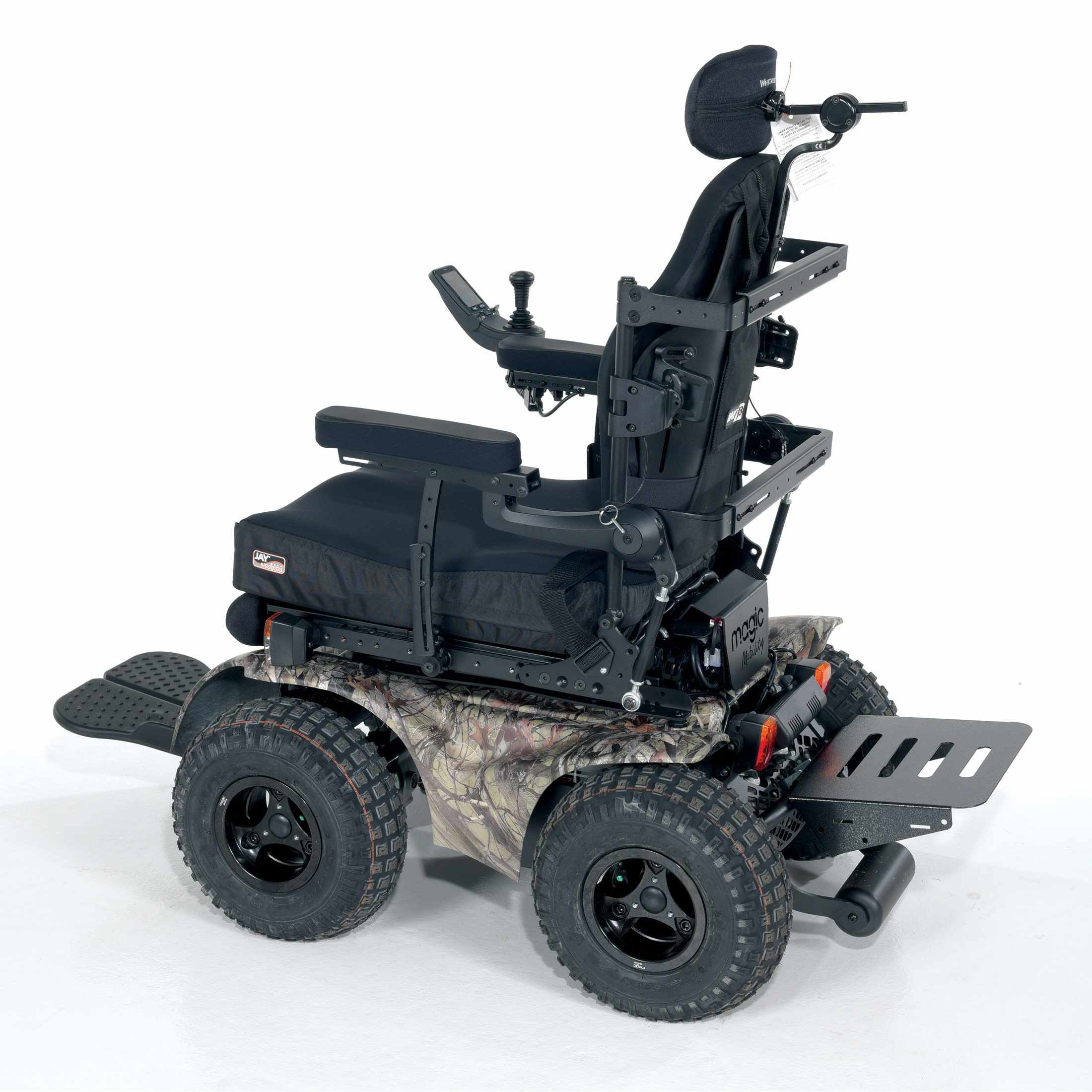 Magic Mobility Extreme X8 4X4 All Terrain Wheelchair