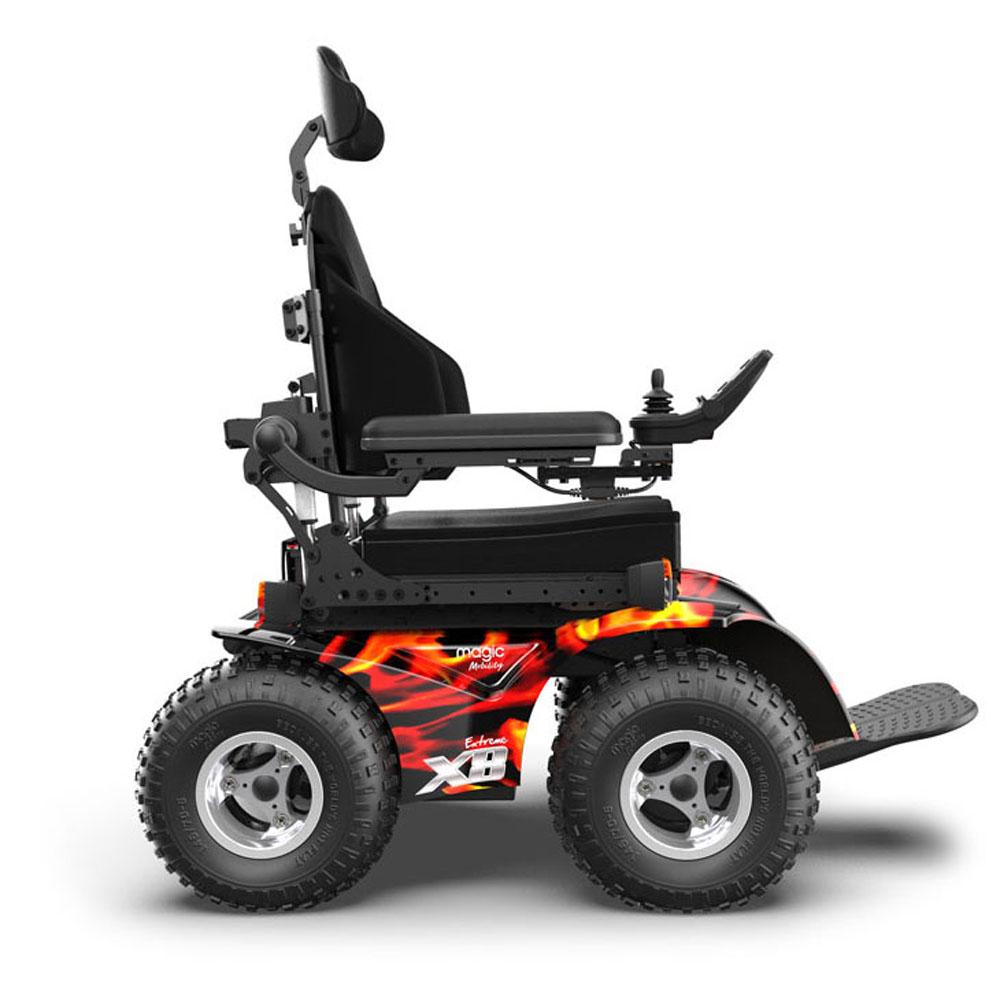 Extreme X8 by Magic Mobility   4X4 All Terrain Power Wheelchair