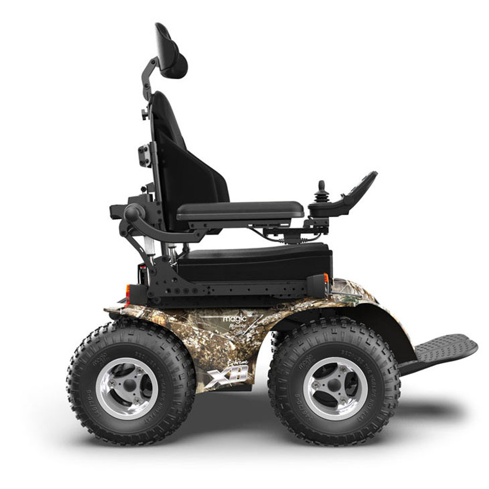 X8 Extreme 4X4 by Magic Mobility   Off-Road Power Chair