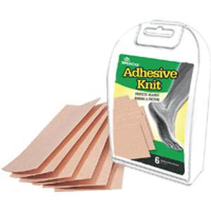 "Implus 2nd Skin 6 Adhesive Knit Sheets, 3"" x 5"""