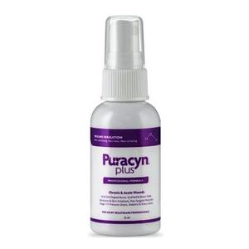 Puracyn Plus Professional Wound Irrigation Solution, 55 mL, Pump Bottle