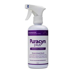 Puracyn Plus Trigger Spray Wound Irrigation Solution, 500mL