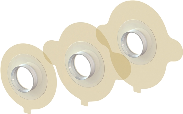 Blom-Singer HydroFit Adhesive Tracheostoma Housing