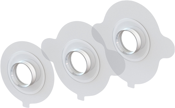 Blom-Singer Accufit Adhesive Tracheostoma Housing
