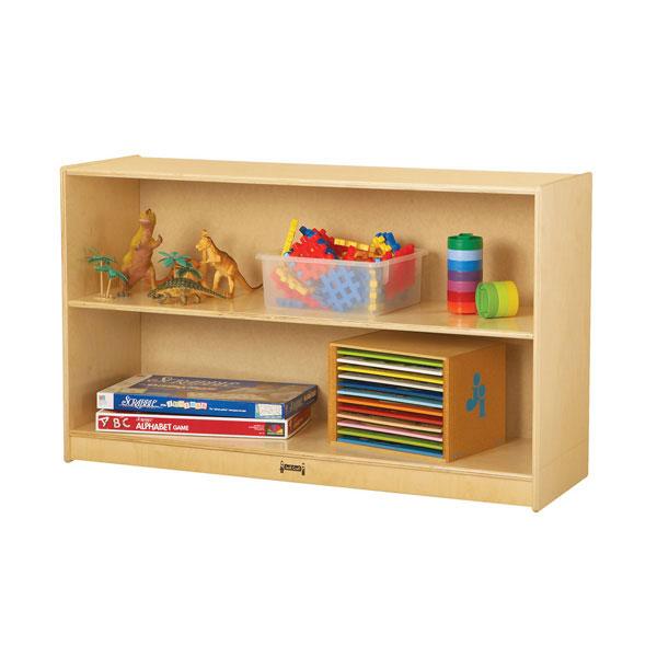 Jonti-Craft straight-shelf