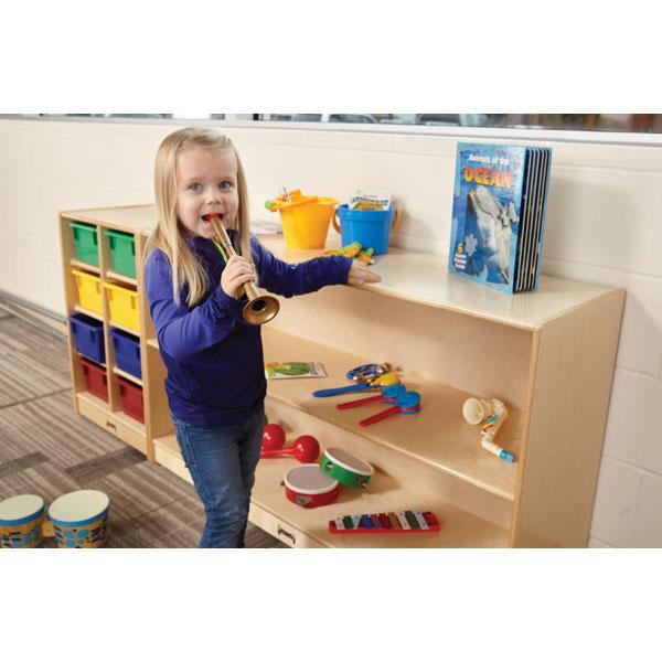Straight-shelf