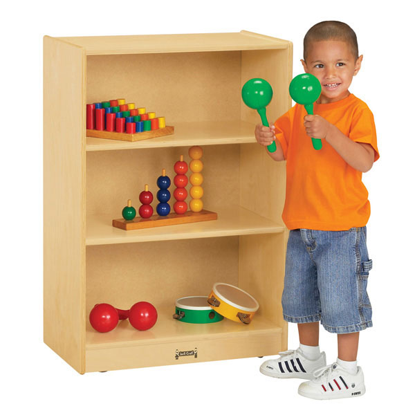 Jonti-Craft space-saver mobile straight-shelf