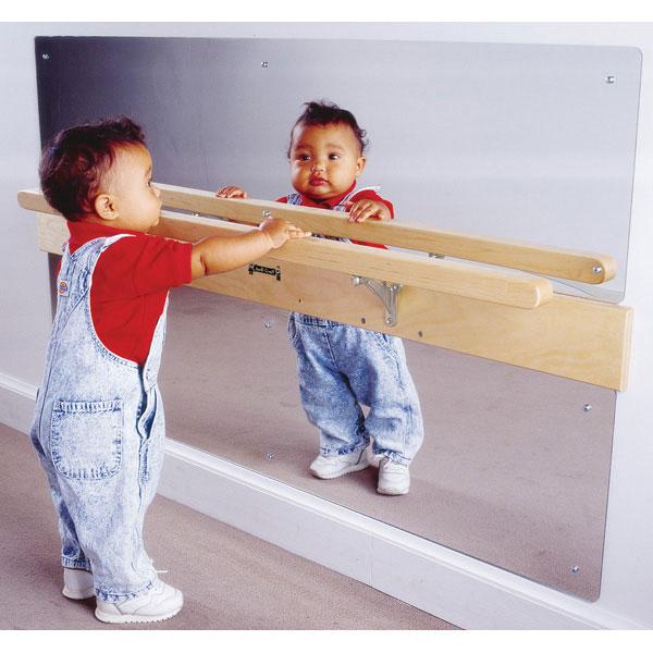 Jonti-Craft infant coordination mirror