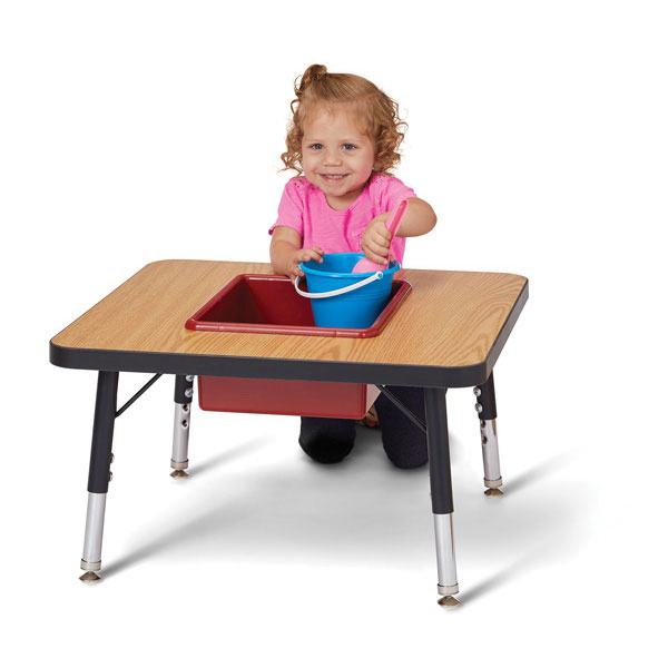 Jonti-Craft toddler adjustable sensory table