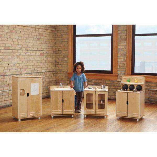 TrueModern Play Kitchen 4 Piece Set