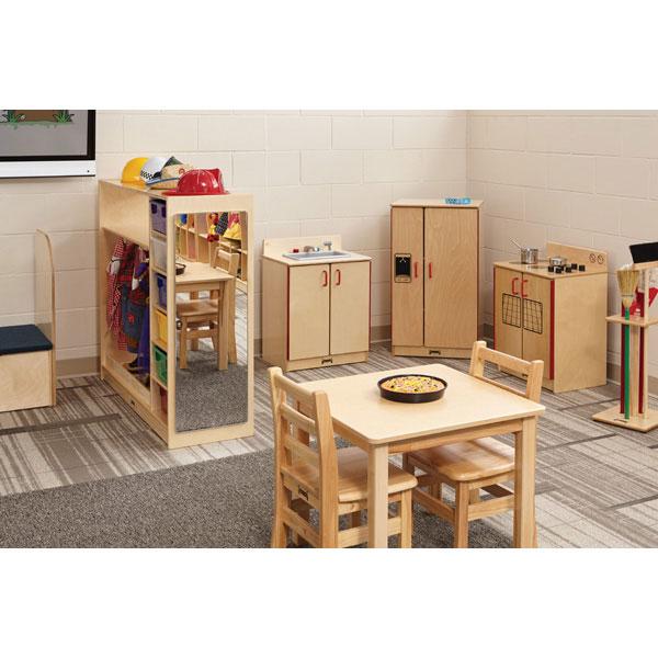 Housecleaning set-n-rack
