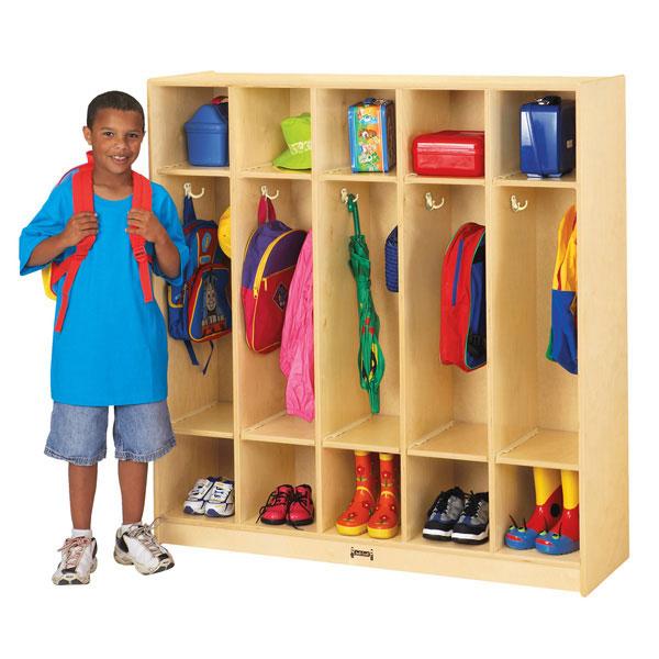 Jonti-Craft 5 Section Coat Locker