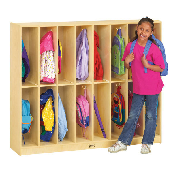 Jonti-Craft twin trim locker