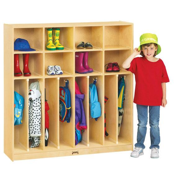Jonti-Craft neat-n-trim locker