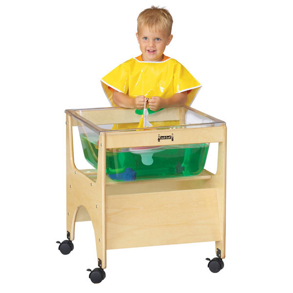 Jonti-Craft see-thru mini sensory table